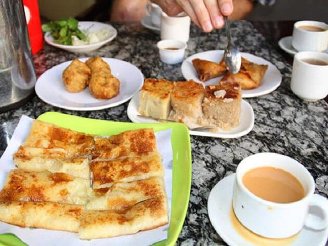 Tea Shop Meal